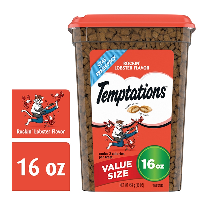 temptations® rockin lobster 16 oz container front package shot